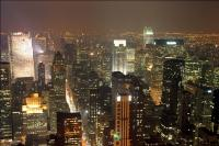 New York at night!